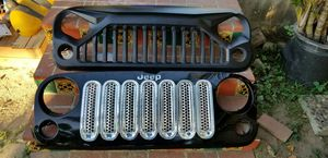 Jeep wrangler grill $60 for Sale in Rosemead, CA