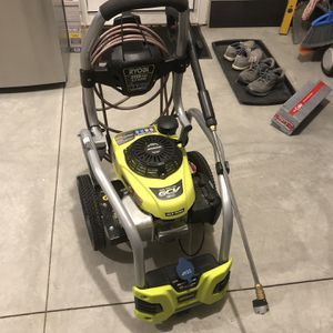 VERY Lightly Used Ryobi 3100 psi, 2.5 gpm gas Power Washer for Sale in Plymouth, MI