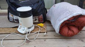 Camping set, polar sleeping bag for Sale in Fresno, CA
