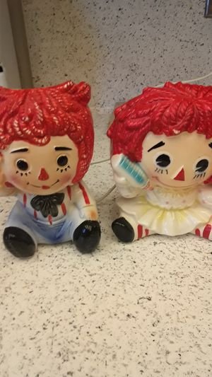 Raggedy Ann and Andy for Sale in Tucson, AZ