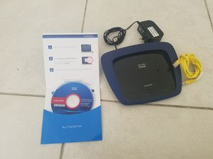 Cisco linksys E3000 internet router. for Sale in Orlando, FL
