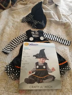 Adorable Little Witch Costume for Sale in Fort Wayne,  IN