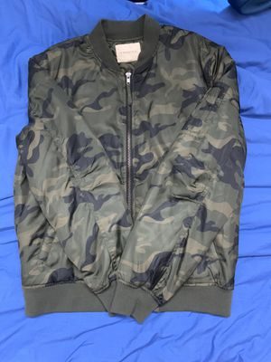 Men's Camo Bomber Jacket for Sale in Fremont, CA