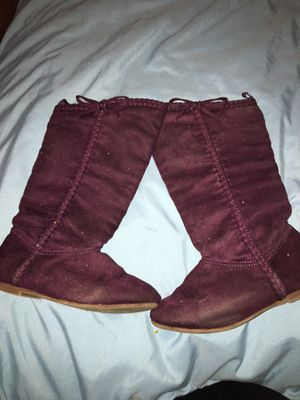 Size 9c girls boots for Sale in Grand Prairie, TX