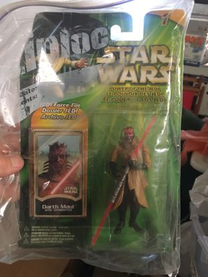 Darth Maul Star Wars action figure for Sale in San Jose, CA