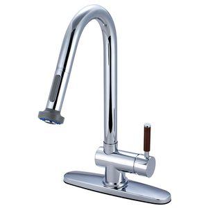Single Handle Kitchen Faucet, Chrome for Sale in Tamarac, FL