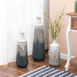 3-Piece Metal Multi-tone Vases for Sale in Whittier, CA