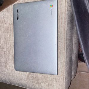 Toshiba Chromebook in Grey for Sale in Tempe, AZ