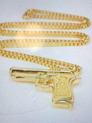 Hip Hop Pendant & Necklace Chain(Please Read Description Completely) for Sale in Seattle, WA