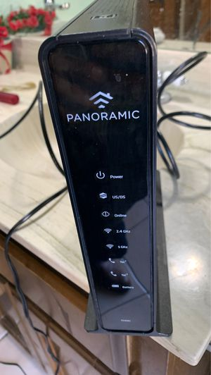 Arris panoramic 2.4/5ghz tg1682g wireless router modem for Sale in Phoenix, AZ