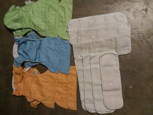 8 Bum genius clothes diapers. for Sale in Denver, CO