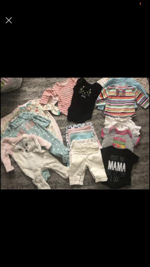 Baby Girl Bundle 3 months for Sale in Riverside, CA