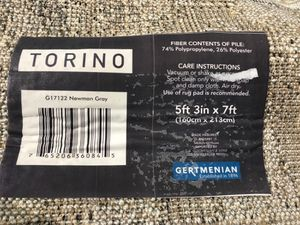 Gertmenian 6ft.x7ft. Torino G17122 Newman Gray for Sale in Norco, CA