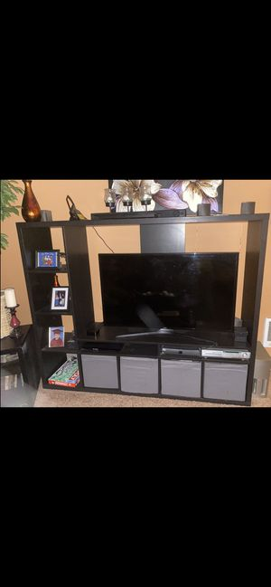 IKEA tv storage with shelves. for Sale in Tigard, OR