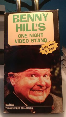 Benny Hill VHS for Sale in Tracy,  CA