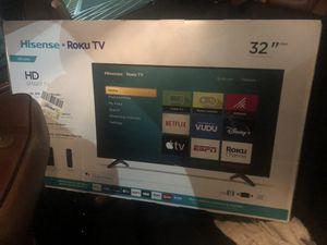 Brand new 32in hispense w Roku TV still in the box for Sale in Bloomingdale, IL