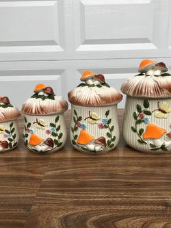 Merry Mushroom Canister Set for Sale in Scotch Plains,  NJ
