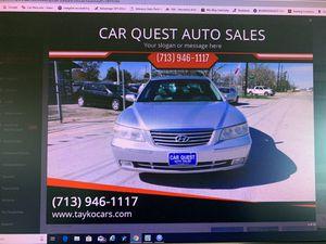 2007 Hyundai Azera-Limited. for Sale in Houston, TX