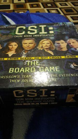 CSI board game for Sale in Smyrna, TN