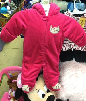 Girls Hello Kitty SnowSuit size 3-6 Months for Sale in Matawan, NJ