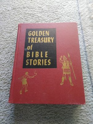 "1954 Book. ""Golden Treasury of Bible Stories for Sale in Las Vegas, NV"