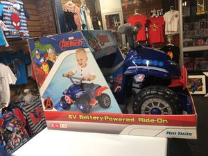 Captain America 6volt ride on! for Sale in Kissimmee, FL