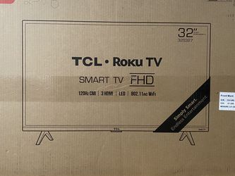 TCL 32 Inch TV 1080p for Sale in New York,  NY