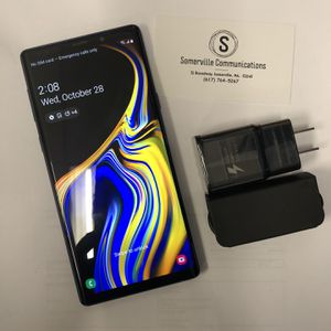 Samsung galaxy note 9 512gb unlocked for Sale in Cambridge, MA