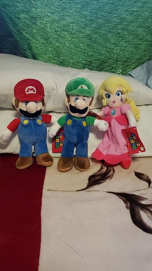 Super Mario Plushies for Sale in Los Angeles, CA