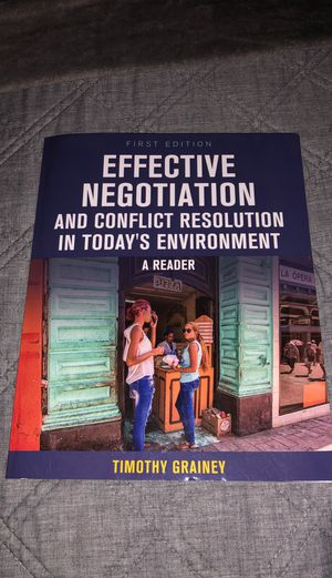 Effective Negotiation and Conflict Resolution in Today's Environment for Sale in Chandler, AZ