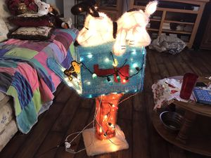 Light Up Snoopy Woodstock Animated Christmas Mailbox for Sale in Vienna, MO