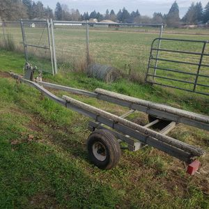 14 Foot Galvinized Boat Trailer for Sale in Oregon City, OR