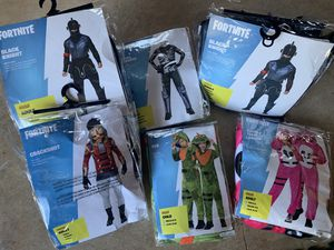 Fortnite Halloween costumes child & adult for Sale in Douglasville, GA