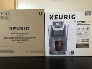 Keurig K200 Cashmere Gray Limited Edition Brand New in box for Sale in Redondo Beach, CA