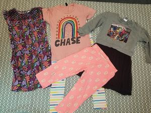 Girls clothes clothing lot sz 10/12 leggings dresses shirt for Sale in Seattle, WA