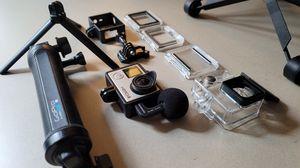 Gopro Hero 4 Silver w/ accessories for Sale in Glendora, CA