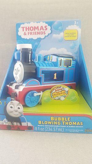 Brand new Thomas & Friends bubble blowing machine for Sale in Tamarac, FL