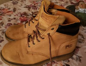 Timberland work boots size 11 price firm thanks for Sale in Fort Myers, FL