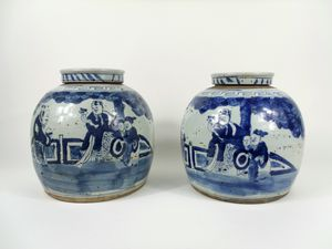 Chinese vases 19th century for Sale in Philadelphia, PA