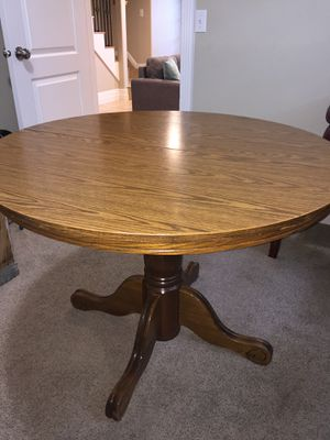 Wood Kitchen Table for Sale in Salt Lake City, UT