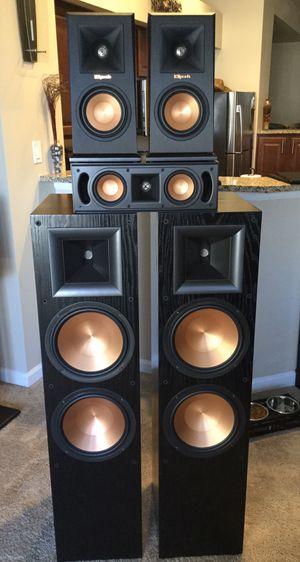 Klipsch Premium Reference Series Surround Sound Setup for Sale in Denver, CO