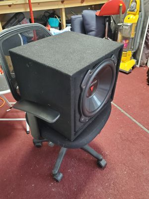 Kenwood 12 sub and enclosure for Sale in Elk River, MN