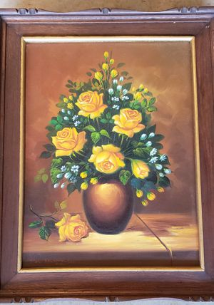 Hand Painted Flower Arrangment for Sale in Frisco, TX