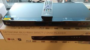 DVD PLAYER, LG NET WORK BLU-RAY DISC for Sale in Belleville, NJ