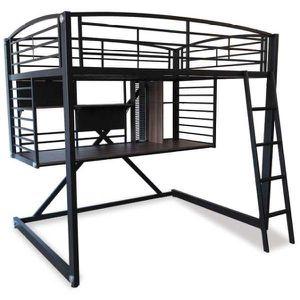 Loft bunk bed/ workstation for Sale in Colorado Springs, CO