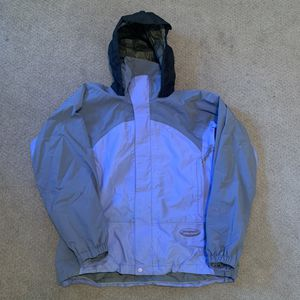 Patagonia Gore-Tex XCR Ski Rain Jacket Hood Blue/Periwinkle Womens Size Small for Sale in Pelham, NH