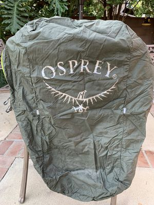 Osprey backpack travel cover for Sale in Los Angeles, CA