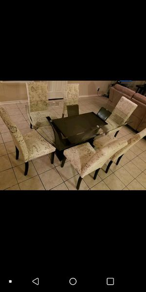 7 pcs dinning table set for Sale in Austin, TX