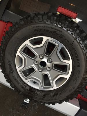 Jeep wrangler Rubicon wheels and tires for Sale in Dearborn, MI