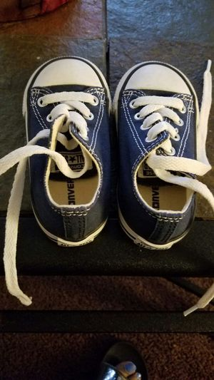 Toddler converse tennis shoes for Sale in Baltimore, MD